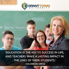 Education indeed is what shapes human beings and society as a whole. Thus teachers play a vital role in shaping the future of the world. #SolomonOrtiz  #Follow   #Education