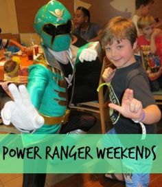 What to expect at the Power Ranger Weekends at the Nick Hotel via @Field Trips with Sue @FieldTripswithSue