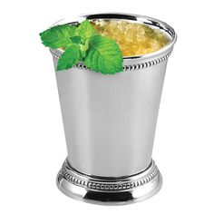 Amazon.com | Oggi 9009 Stainless Steel Mint Julep Cup, 12 oz, Silver: 14.99USD