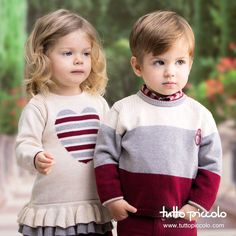 Vestidos en tricot y jerseys abrigaditos. Cómodos, guapos y actuales. #TuttoPiccolo