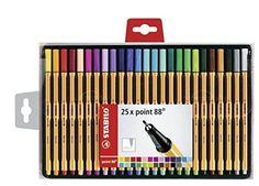Stabilo 88 25-color Wallet Set Stabilo