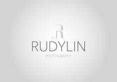 Rudylin Photography Re-Branding by Sonny Wanandi, via Behance Photographer Logo, Personal Portfolio, Sony, Behance, Branding, Photography, Decor, Brand Management, Photograph