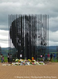 Dark skies at the Nelson Mandela Capture Monument on the Midlands Meander, KZN, South Africa, after Mandela's death in South Africa Wildlife, Police Flag, Kwazulu Natal, Dark Skies, Nelson Mandela, Knowing God, Continents, Remote, Death