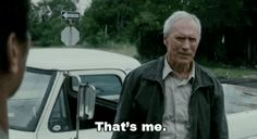 Find GIFs with the latest and newest hashtags! Search, discover and share your favorite Gran Torino Clint GIFs. The best GIFs are on GIPHY. Gran Torino Film, Clint Eastwood Quotes, Famous Quotes, Best Quotes, Movie Quotes, Funny Quotes, Badass Movie, Best Movie Lines, Canvas Quotes