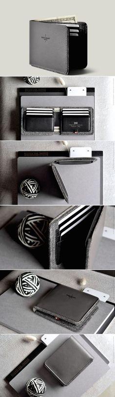 #hardgraft Bi-Fold Wallet: