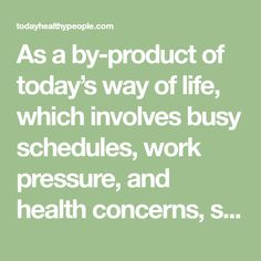 As a by-product of today's way of life, which involves busy schedules, work pressure, and health concerns, stress is quite undesirable. Although we are usually unsuccessfully, we keep searching for…