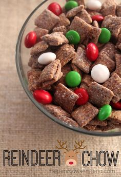 Reindeer Chow :: A Little Help for the Holidays from Kraft - The PennyWiseMama
