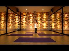 ▶ Yoga Magic in Mantra's Himalayan Salt Brick Studio, Koh Samui - YouTube