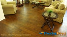 Flooring Direct is proud to feature Texas Traditions' Tuscon collection starting at $6.99/SqFt, installed! Choose from 4 beautiful hues of this rich, hand-scraped, Hickory hardwood that includes a lifetime structural and 25-year finish warranty.  Click on the picture above or call 888-466-4500 for additional information. http://flooringdirecttexas.com/hardwood-flooring-6-99-per-square-foot-installed/ #flooring #hardwood #DFW
