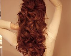 bouncy hair, yes please