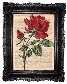 """""""Every Rose Has It's Thorn"""" by Rachel Humphries on Etsy"""