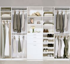 For the master closet - his and her sides...NEED!