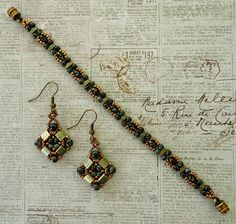 Linda's Crafty Inspirations: Layered Tila Earrings Update