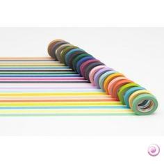 Des masking tape pour tout décorer:  vos carnets, petis meubles, carterie, paquets cadeaux...