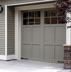 Amazing Awesome Home Garage Door Design Ideas 151 Image Is Part Of 170 Awesome Home Garage  Doors Design Ideas That You Must See Gallery, You Can Read And See ...
