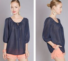 Anthropologie Inspired Loose Blouse, $23.99