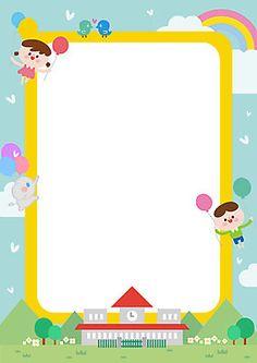 이미지포털 아이클릭아트 Kids Background, Flower Background Wallpaper, Flower Backgrounds, Wallpaper Powerpoint, School Border, Birthday Wallpaper, Borders And Frames, Binder Covers, Alphabet Activities