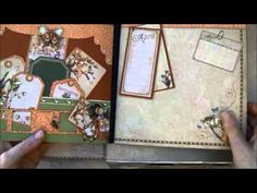 Hi everyone. Had so much fun making this memory yearbook album and desk top box for my mom`s 80 year birthday :-)  Used the Place in time collection from Graphic 45 both 8x8 and 12 x 12. Stickers, chipboard and staples from the collection. Tim Holtz dies, Iamroses flowers,lindystampgang sprays and Prima resin    Did film the album when i made it so...