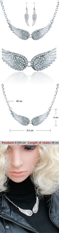 Angel Wings Choker Necklaces ! Click The Image To Buy It Now or Tag Someone You Want To Buy This For. #AngelNecklace