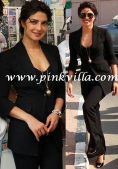 Priyanka Chopra in Giorgio Armani