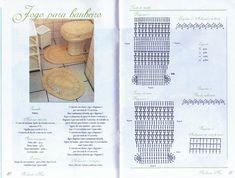graficos de tapetes de croche . - Pesquisa Google