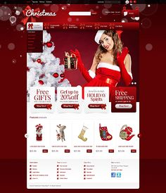 HoHoHo... Holiday shopping? Get Christmas Template Espresso! That's PrestaShop #template // Regular price: $140 // Unique price: $2500 // Sources available: .PSD, .PHP, .TPL #PrestaShop #Shop #Store #Christmas #SantaClaus #Toys #Decoration #Gifts