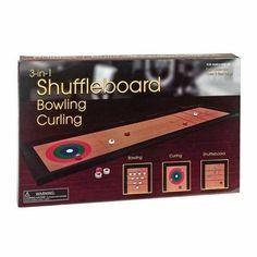 3-In-1: Shuffleboard, Bowling, Curling   Jet.com