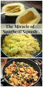 Yummy spaghetti squash dish