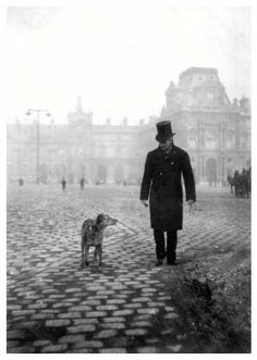 Gustave Caillebotte. Photo taken by his brother Martial. (From Brooklyn Museum exhibit Paris to the Sea, 2009, sorry no source link)