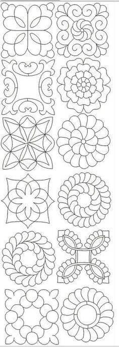 Misc hand quilt designs ClaraZ1