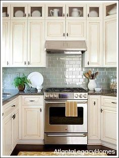 Kitchen Tiles Ideas Pictures Cream Units perfect kitchen color scheme. dark granite and cream cabinets with