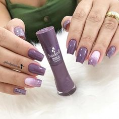 Spring Winter Coffin Nail Designs Inspo Coffin Purple Dip Powder Ombre ,Spring Winter Coffin Nail Designs Inspo Coffin Purple Dip Powder Ombre Choice of Cleopatra is Blood Red Cleopatra was the first person to Gel Uv Nails, Toe Nails, Coffin Nails, Short Nails Art, Dipped Nails, Manicure E Pedicure, Cute Acrylic Nails, Stylish Nails, Powder Nails