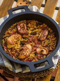 Arròs de muntanya amb ànec i bolets Bolet, Paella, Yummy Food, Ethnic Recipes, Delicious Food, Good Food