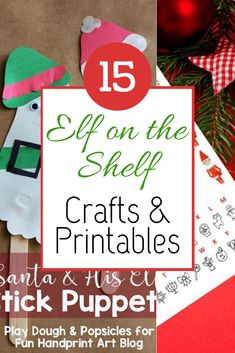 Elf on the Shelf printables and crafts including letters accessories notes. planning calendar and elf inspired crafts. Elf on the Shelf printables and crafts including letters accessories notes. planning calendar and elf inspired crafts. Holiday Crafts For Kids, Christmas Crafts, Christmas Christmas, Printable Playing Cards, Popsicle Art, Free Christmas Printables, Party Printables, Planning Calendar, Christmas Preparation