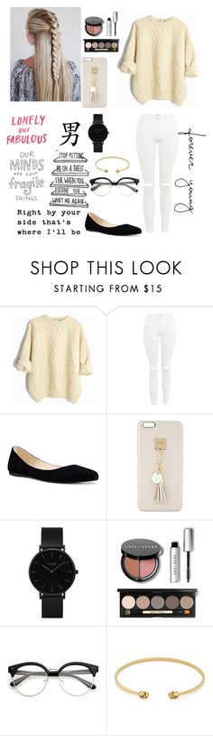 """""""I Love This!"""" by blondypup ❤ liked on Polyvore featuring Topshop, Nine West, Iphoria, Citizens of Humanity, Hartmann, CLUSE, Bobbi Brown Cosmetics and Gucci"""
