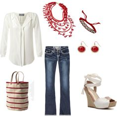 Comfy casual, created by ligoodwin.polyvor...minus the shoes for me.