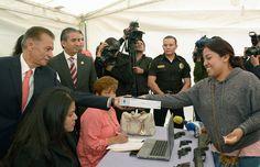 Canjea tus armas por dinero y tabletas electrónicas en Gustavo A. Madero
