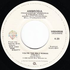 Ambrosia You're The Only Woman (You