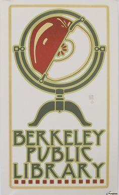 Berkeley Public Library Poster Canvas Print