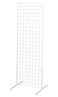 2 x 6 foot White Standing Grid Screen
