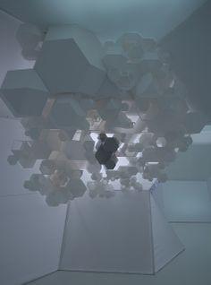 Inner Cosmos of Polyhedrons by Toyo Ito / toyo ito gets all aranda+lasch Installation Architecture, Conceptual Architecture, Installation Art, Art Installations, Modern Architecture, Light Art, Modern Art, Contemporary Art, Toyo Ito