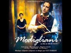 Modigliani - You Can't Change Destiny (Soundtrack) - Guy Farley . In awe with his respectfull work on Modigliani. Andy Garcia, Amedeo Modigliani, Music Songs, Funny Links, Elsa, I Love Cinema, Inspirational Movies, Books, Soundtrack