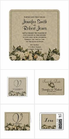 Vintage Gardenia Wedding