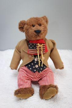 "Bearly There Bear - Americana ""Liberty"" - Collectors - Limited Ed. #24 - USA  #BearlyThere #Celebration"