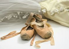 The secret ballet dancer shoes