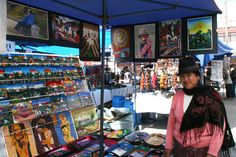 Otavalo vendor.