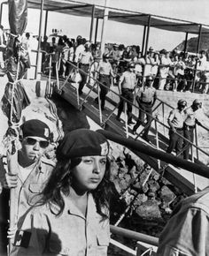 The above photo shows members of the Brown Berets leaving Catalina Island while being escorted by the L.A. County Sheriffs at the end of the Catalina Island occupation. On August 30, 1972, twenty-six members (25 men and one woman) of the Brown Berets began a twenty-four day occupation of Santa Catalina Island. A contingent of Brown Berets arrived in small groups aboard a tourist boat and a small plane. Photo credit: Underwood Photo Archives
