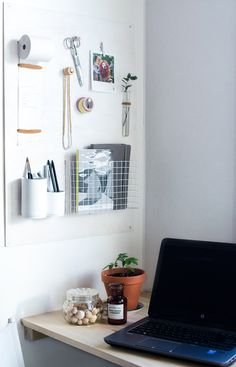 What to Make This Weekend: A Vertical Desk Organizer, Ombré Sneakers + More via Brit + Co.