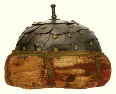 Scale helmet by Anonymous from Poland, late 17th century, Zamek Królewski na Wawelu