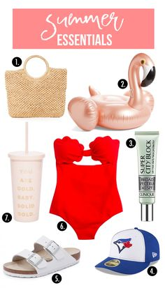 Essentials for summer time!